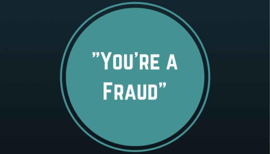 inner critic you're a fraud