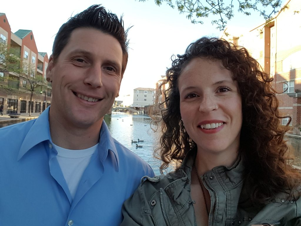 Amanda Campbell and partner