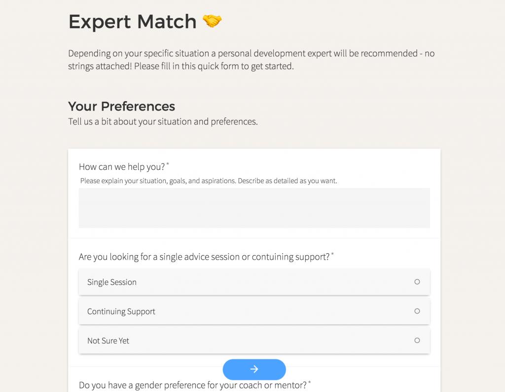 Expert Match