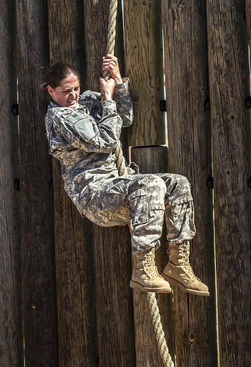 army challenge woman
