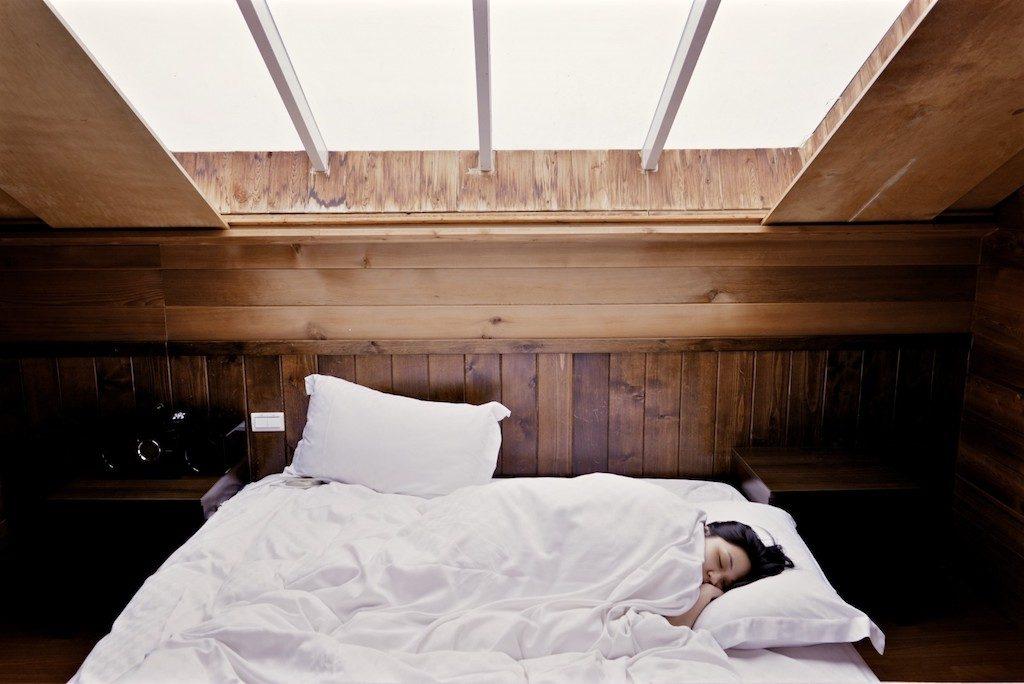 Saying goodnight- Sleep Well